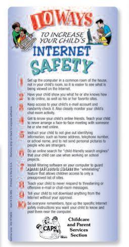 10 Ways To Increase Your Child's Internet Safety Ez Stick Glancer