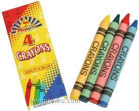 Crayons In Packs Of 4