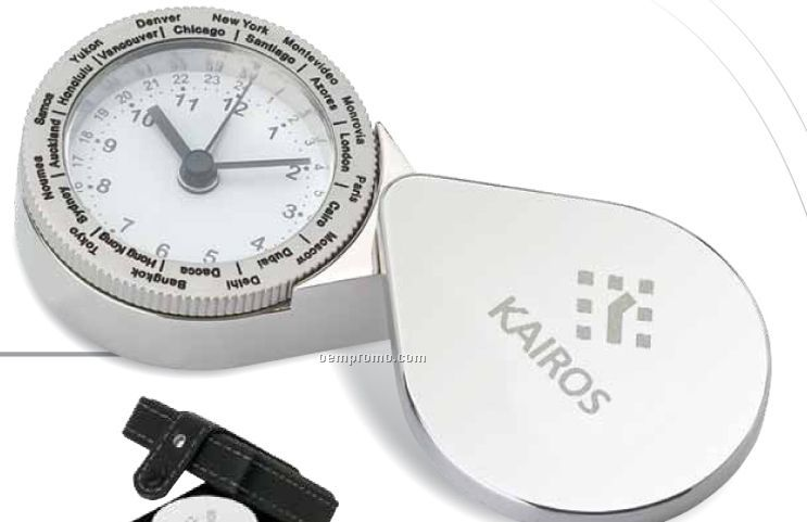 International Travel Alarm Clock