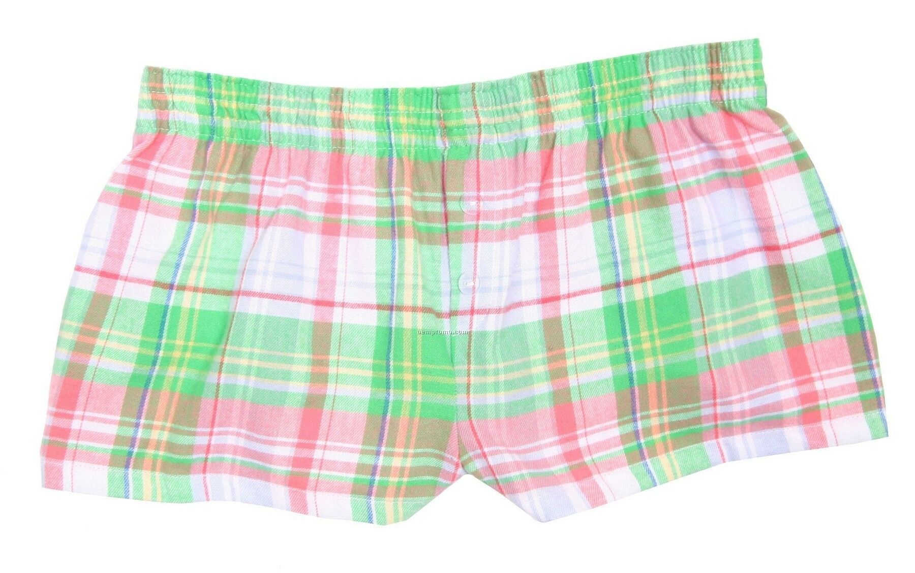 Ladies' Hamptons Flannel Bitty Boxer Short With False Fly