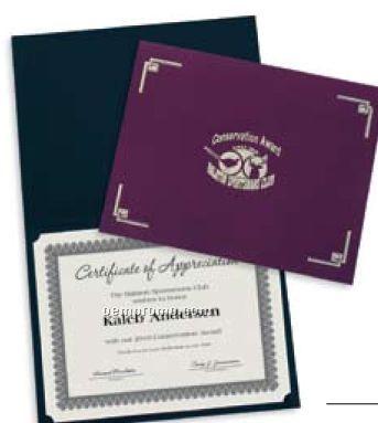 Linen Certificate/ Diploma Folder