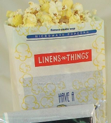 Stock Design Microwave Popcorn Bag