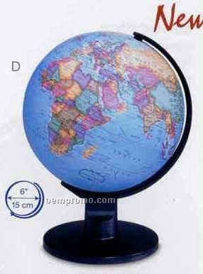 Trekker Blue Ocean English Text Globe