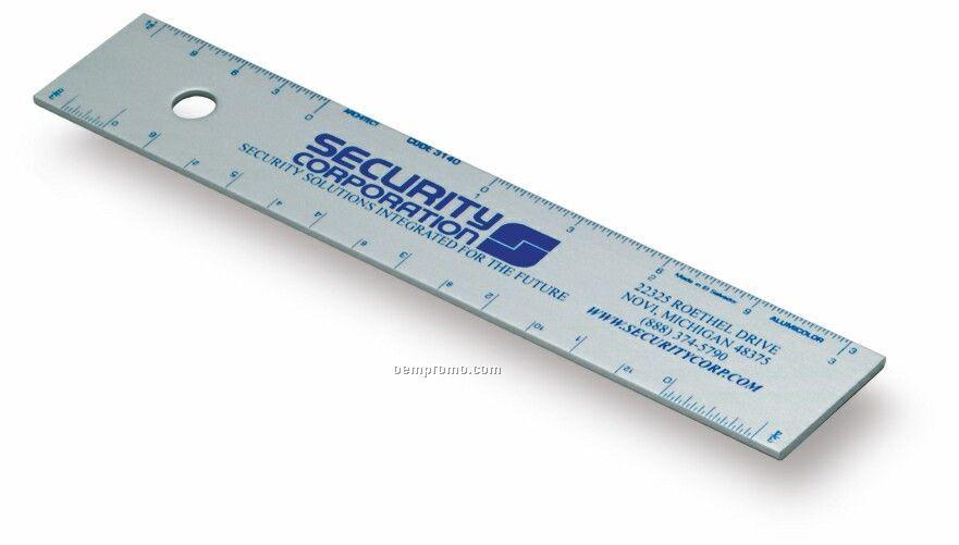 "6"" Architect Straight Edge Ruler"