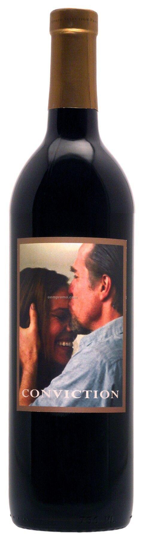 750ml Standard Merlot Wine With Label