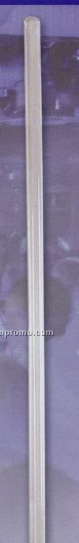 "9"" Standard Round Stem Stirrer (Crystal Clear)"