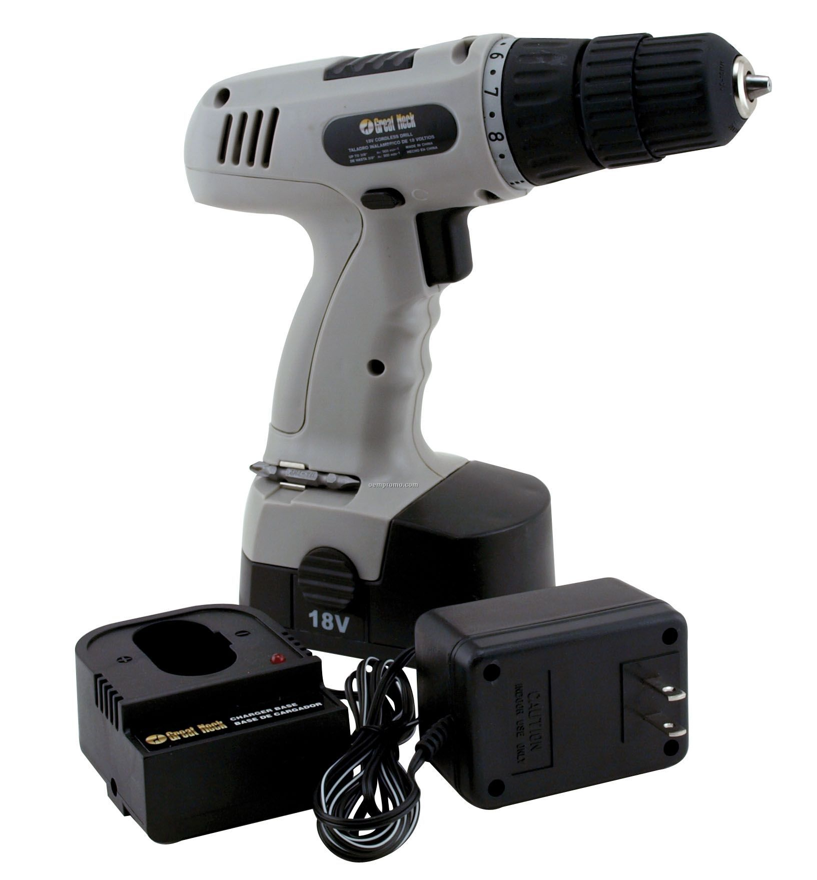 Rechargeable Cordless Drill (18 Volt)