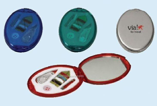 Translucent Colored Sewing Kit