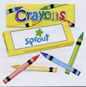 4 Color Crayon Box