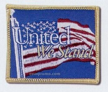 "Embroidered Patches With 75% Coverage (2"")"