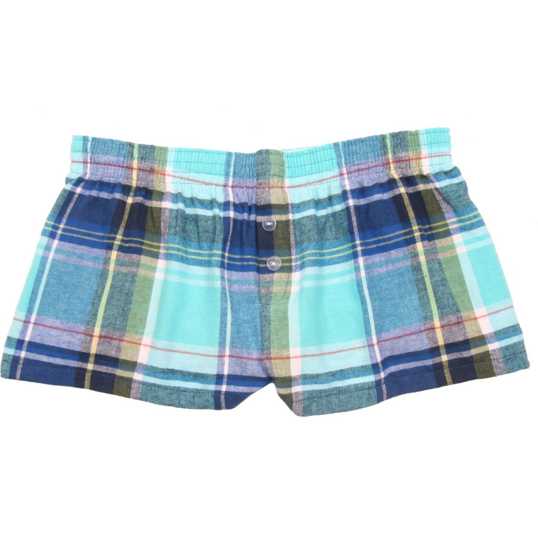 Ladies' Marina Flannel Bitty Boxer Short With False Fly