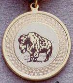 Medallion Kromafusion Team Mascot - Buffalo Insert