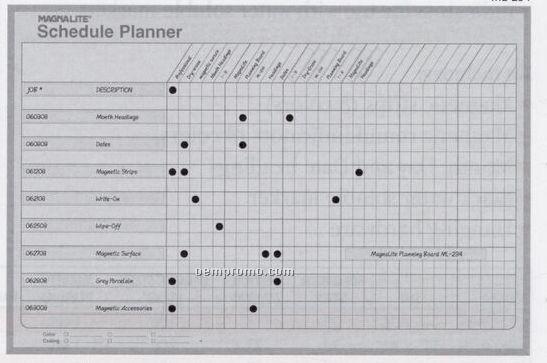 "Schedule Planning Board Kit (24""X36"")"