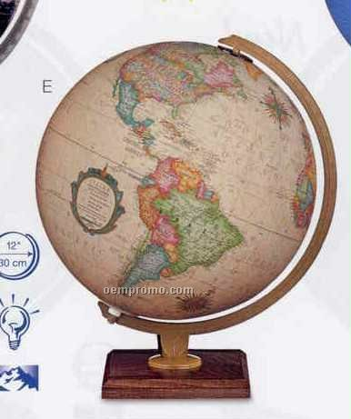 Carlyle Antique Ocean Illuminated Globe