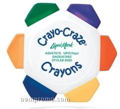 Crayo-craze 6 Color Crayon Wheel