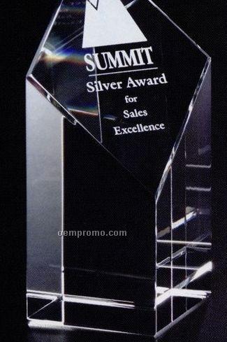 "Pristine Gallery Crystal Trinity Award (6"")"