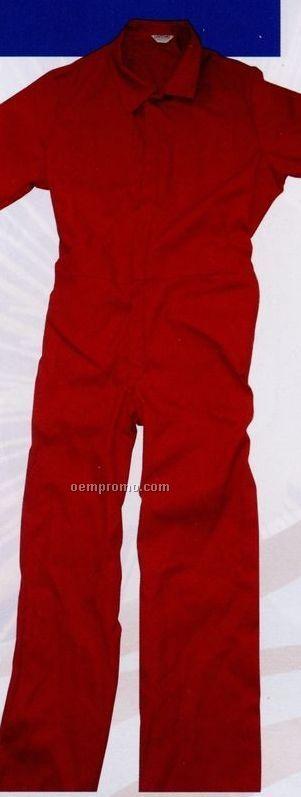 Unlined Short Sleeve Twill Overalls (2xl)