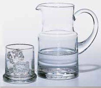 24 Oz. Aria Vase W/ Drinking Glass / Lid