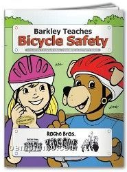 Action Pack Color Book W/ Crayons & Sleeve - Barkley Teaches Bicycle Safety