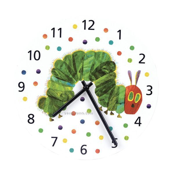 Eric Carle The Very Hungry Caterpillar Wall Clock