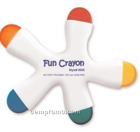 Fun Crayon 5 Color Crayon In Ergonomic Design