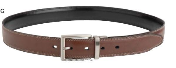 Men's Nautica Reversible Leather Belt (Size 34 To 44)