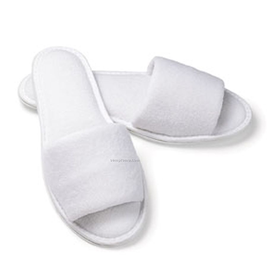 Mens Shoe Slippers Men's Open Toe Terry Slippers