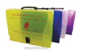 Document Case With Handle And CD Holder