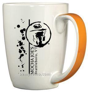 11 Oz. Trendy Ribbon Handle Mug