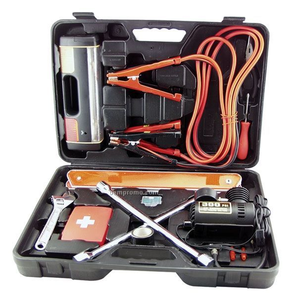 40 Piece Auto Emergency / Safety Set
