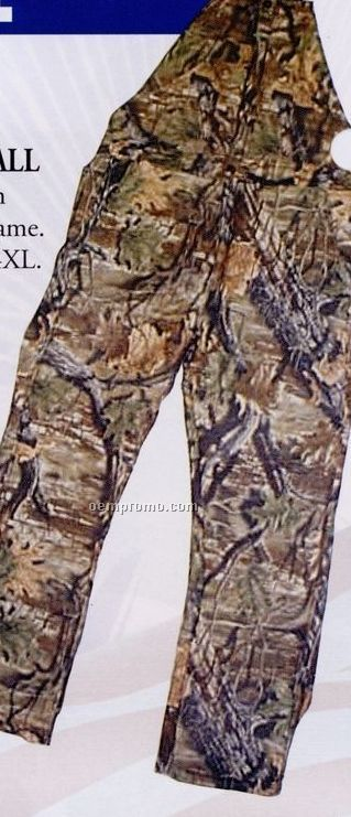 Camouflage Lined Bib Overall (2xl)