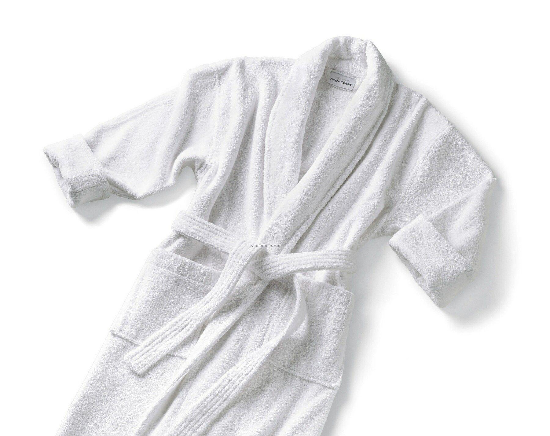 Classic Shawl Collar Robe - 16 Oz. Terry