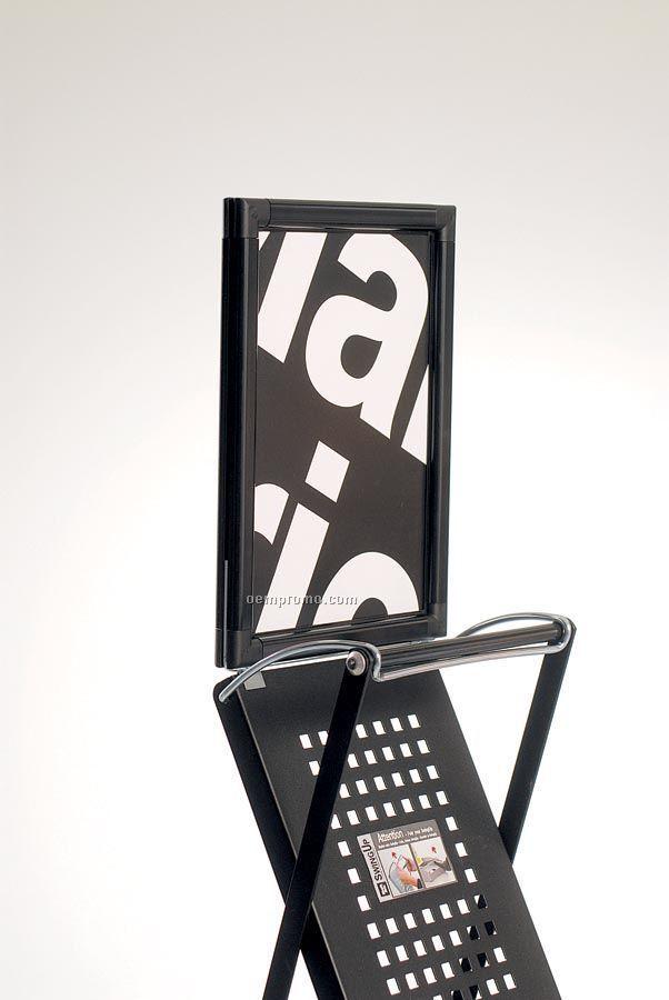 Custom Header For Swingup Literature Stand
