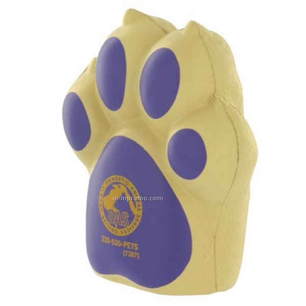Dog Paw Squeeze Toy