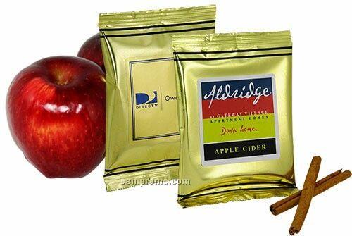 Instant Apple Cider W/ Gold Foil Packaging (Printed Label)