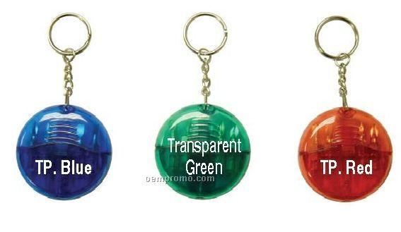 Transparent Half-moon Screwdriver Tool Kit With Keychain