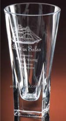 "Chara Collection 9 3/4"" Vase Award"