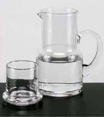 Long Island Pitcher And Drinking Glass/ Lid Set