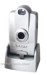 Slim Digital Camera W/ Docking Base
