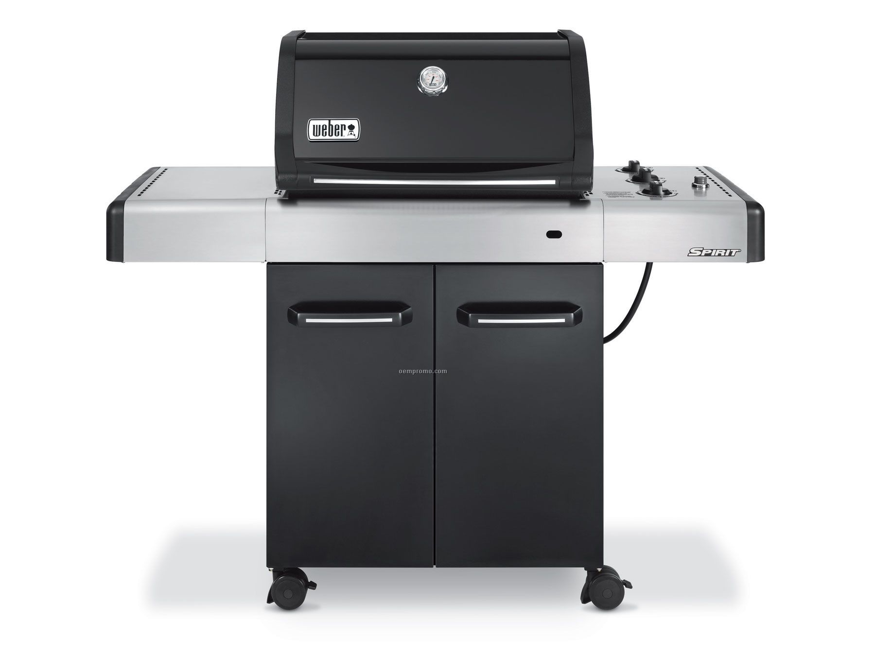 weber spirit s 210 2 burner propane gas grill in stainless. Black Bedroom Furniture Sets. Home Design Ideas