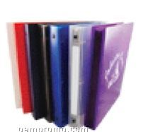 """3 Ring Binder With CD Holder (1"""" Capacity)"""