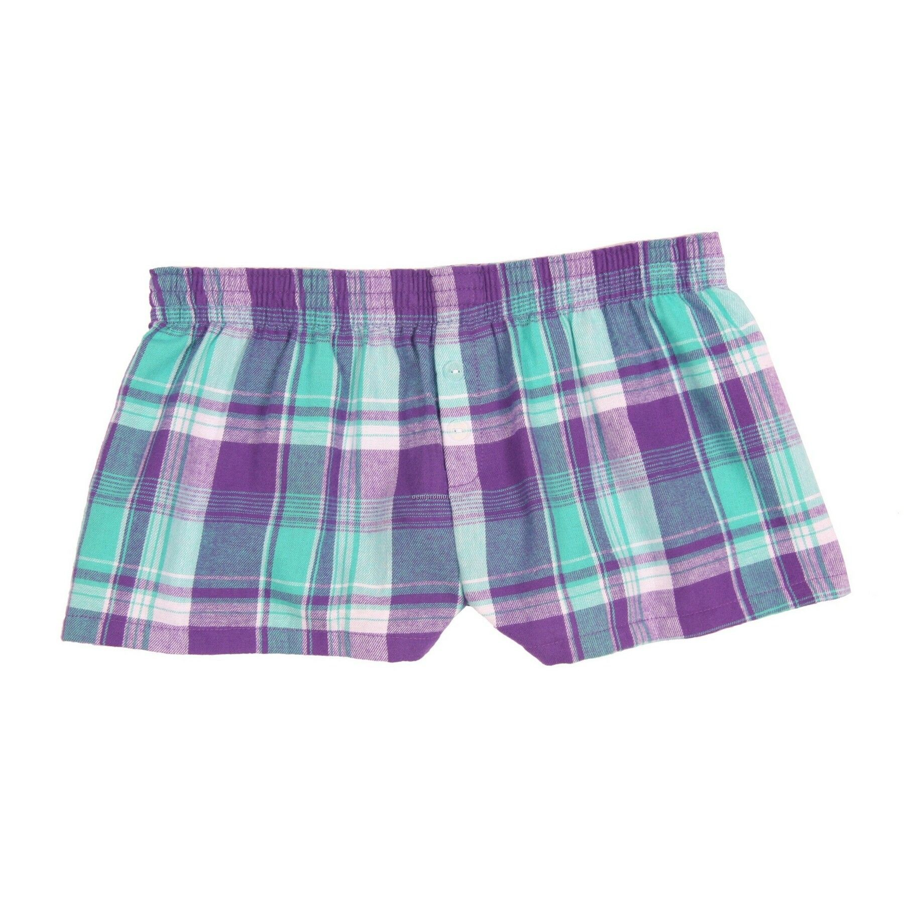 Ladies Be Jeweled Flannel Bitty Boxer Short