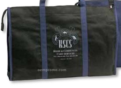 Non Woven Tote Bag W/ Zipper (Blank)