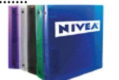 """3 Ring Binder With CD Holder (1-1/2"""" Capacity)"""
