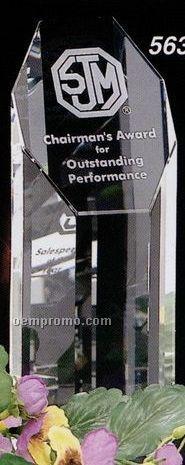 "Pristine Gallery Crystal Amherst Award (8"")"
