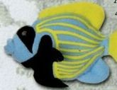 "3"" Angelfish Weebeans Bean Bag Animal"