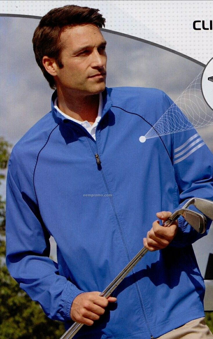 Adult Climaproof 3 Stripes Full-zip Jacket