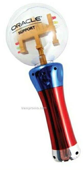 Led spinning flashing ball wand china wholesale led for Led wands wholesale