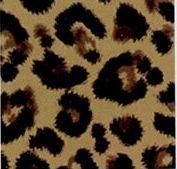 Leopard Non Woven Lumper Storage Container