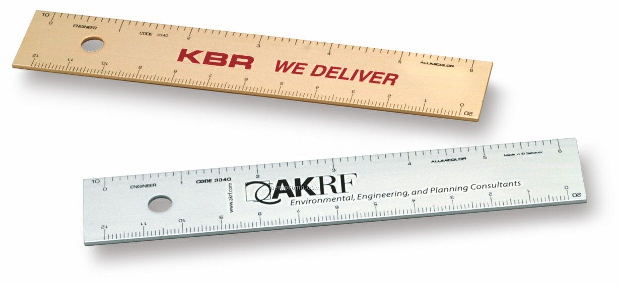 "6"" Engineer Straight Edge Ruler"